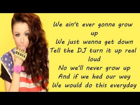 Grow Up - Cher Lloyd ft. Busta Rhymes (LYRICS ON SCREEN).mp4