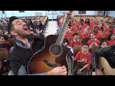 """Don't Give Up On Me"" Andy Grammer ft. PS22 Chorus"