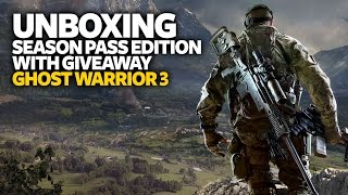 [Giveaway] Sniper Ghost Warrior 3 Unboxing - Ghost Warrior 3 PS4 Season Pass Edition Unboxing