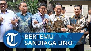 Bertemu Sandiaga Uno, Pimpinan MPR Kirim Undangan dan Bahas Sosialisasi 4 Pilar
