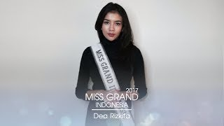 Dea Rizkita Miss Grand Indonesia 2017 Introduction Video