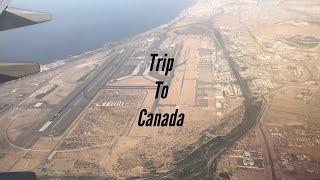 Travelling to Canada from Kerala.#Malayalam Vlog #TVlog1.