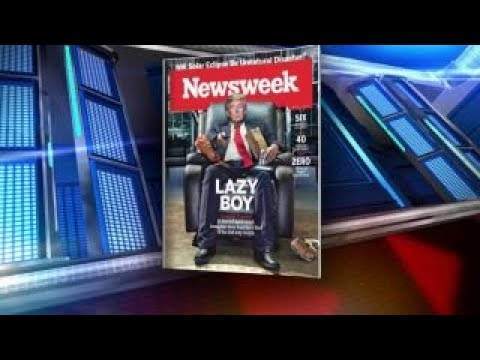 Neil Cavuto slams Newsweek's Trump 'Lazy Boy' cover