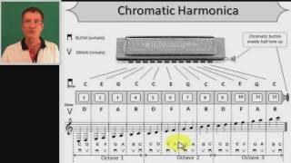 C Chromatic harmonica
