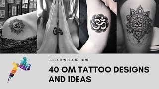 40 Om Tattoo Ideas For Spiritually Minded People