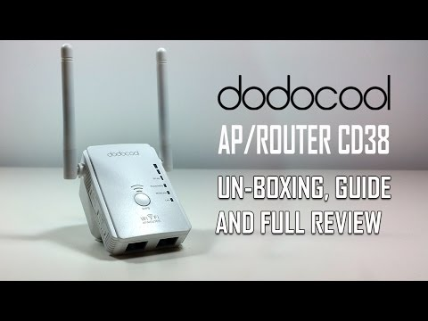 dodocool N300 WiFi Extender Wi-Fi Range Extender Router/Repeater/AP – Review