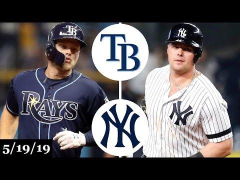 Tampa Bay Rays vs New York Yankees - Full Game Highlights | May 19, 2019 | 2019 MLB Season