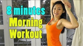 8 Minutes Morning Workout - Lose 2lbs Per Week by Joanna Soh Official