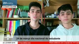 Dia nacional do estudante...não foi fácil!