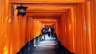 伏見稲荷大社へ鳥羽街道を歩く2014年1月15日