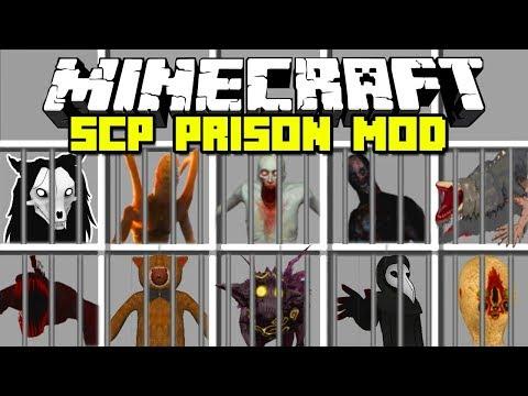 Minecraft : CRAZY SCP LOCKDOWN PRISON ESCAPE MOD | SCP 096
