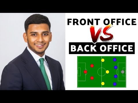 Investment Banking Front Office & Back Office (KEY DIFFERENCES You NEED to Know!)