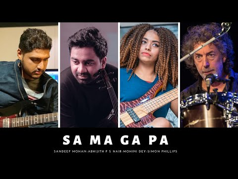 SA MA GA PA  - ABHIJITH & SANDEEP ft.SIMON PHILLIPS & MOHINI DEY..!!!