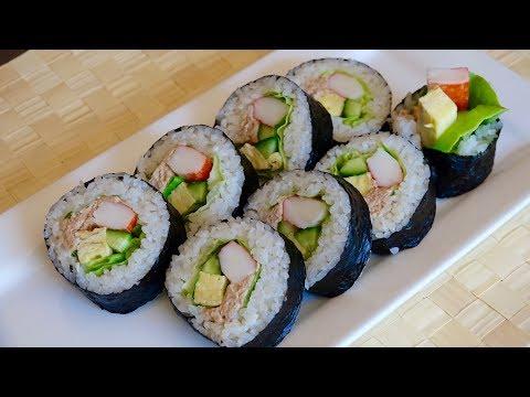 Salad Maki Recipe – Japanese Cooking 101