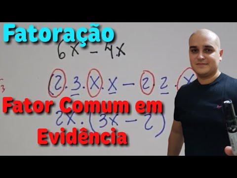 Fatoração 01: Fator comum em evidência