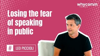 Losing the fear of speaking in public (20 of 22)