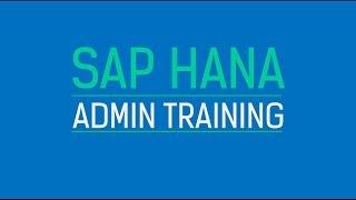 SAP HANA ADMIN TRAINING | HA200
