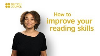Do you want to improve your reading skills but youre not sure