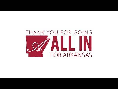 Thanks for Making All In for Arkansas 2018 an All-Out Success