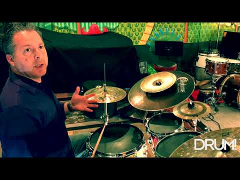 One of my Afro-Caribbean Practice Pad lesson videos for DRUM! Magazine.