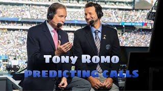 Tony Romo Predicting Plays Perfectly (HD)