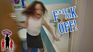 7yr Old Locks Herself In Bathroom To Escape Bedtime   Supernanny