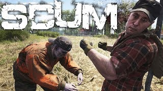 NEW SURVIVAL GAME \\ SCUM EARLY ACCESS \\ 64 PLAYER SERVER BATTLE