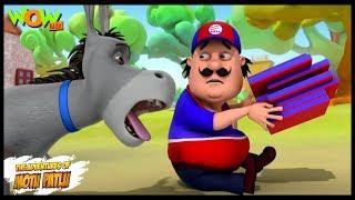 Pizza Boys - Motu Patlu in Hindi - 3D Animation Cartoon for Kids -As seen on Nickelodeon
