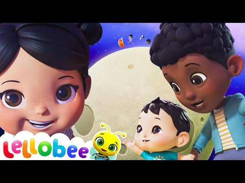 Planets and Moon Song | Nursery Rhymes & Kids Songs! | BRAND NEW! Baby Songs | Little Baby Bum