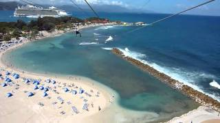 preview picture of video 'Labadee Haiti Zip Line'