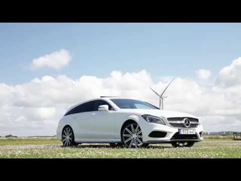 Mercedesbenz Cls Class Shooting Brake Универсал класса C - рекламное видео 3