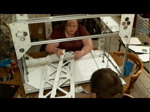 Make Your Own, Giant 3D Printer Build Vol. 4
