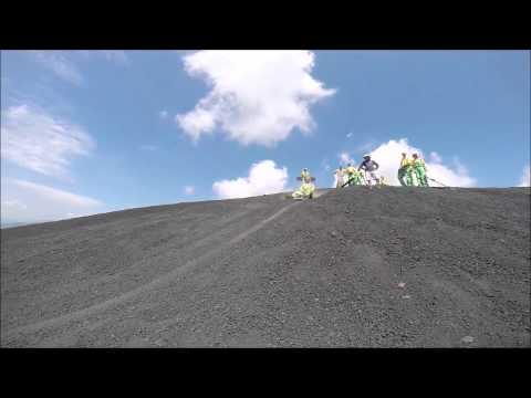 Vulkan Boarding in Nicaragua