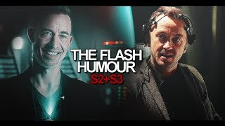the flash humour | since when can he fly?