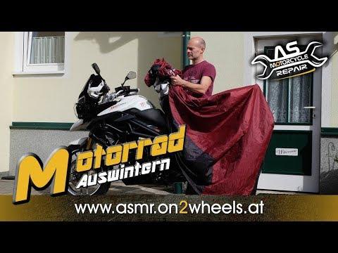 ➤ MOTORRAD RICHTIG AUSWINTERN