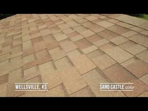 Sand Castle color of the Oakridge Shingle series by Owens Corning! Customer was greatly satisfied with the...