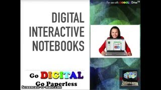 What Are Digital Interactive Notebooks And How To Use Them