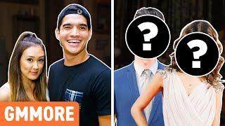 Which Celebrity Couple Are We? ft. LaurDIY & Alex Wassabi - dooclip.me