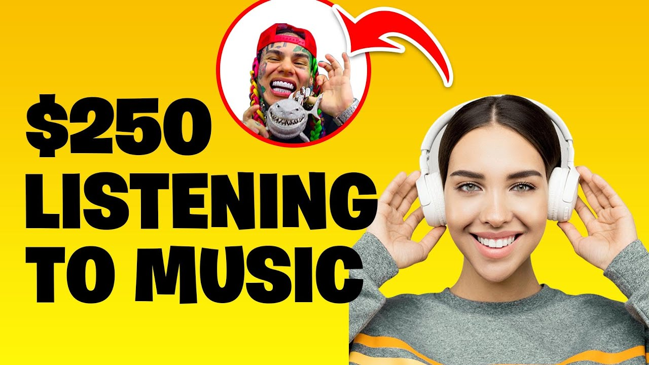 MAKE $650 TOTALLY FREE LISTENING TO MUSIC * New App * [Generate Income Online 2020] thumbnail