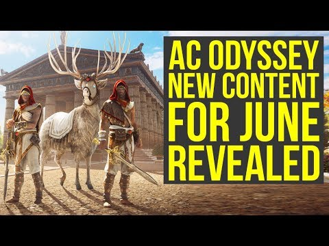 Assassin's Creed Odyssey DLC - New Content For June Revealed (AC Odyssey DLC)