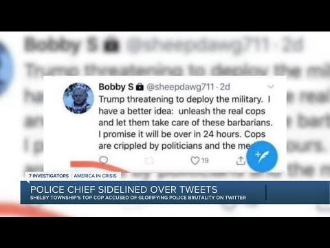 Shelby Twp. police chief on administrative leave over alleged tweets glorifying police brutality