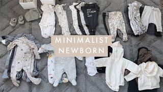 Newborn Minimalist Capsule Wardrobe - NB & 0-3 Months Winter Clothes