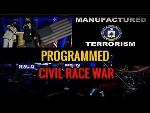 "They did this at Joe Biden and Kamala ""VICTORY"" speech opening CIVIL RACE WAR"
