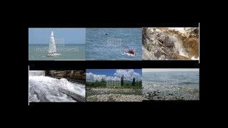 Relaxing Video  Sail  Relax  Sand  Wood  Cascading In Water With Music