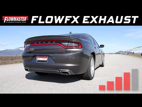 2015-16 Charger R/T 5.7L Hemi - FlowFX Cat-back Exhaust System 717658