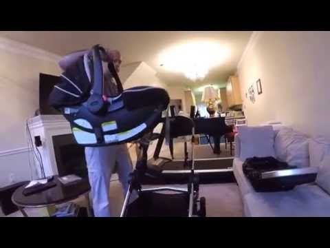 City Select by Baby Jogger Graco car seat and second seat adapter review