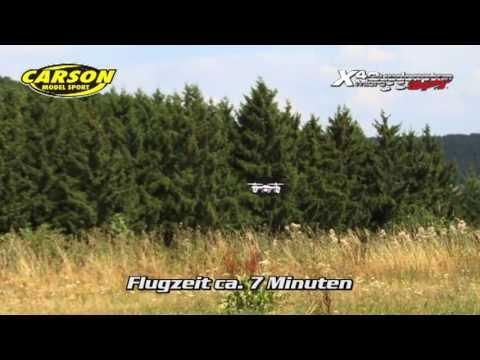 CARSON X4 Micro Quadcopter SPY 100 % RTF
