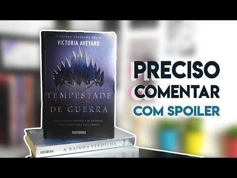 TEMPESTADE DE GUERRA (COM SPOILER), de Victoria Aveyard | Guerraquea