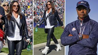 Tiger Woods Girlfriend: Erica Herman In Horny Leather-based Trousers At Ryder Cup 2018 | Celeb Infor