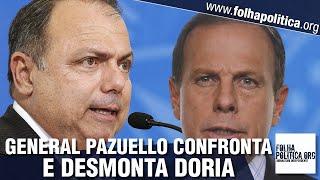 Pazuello confronta Doria